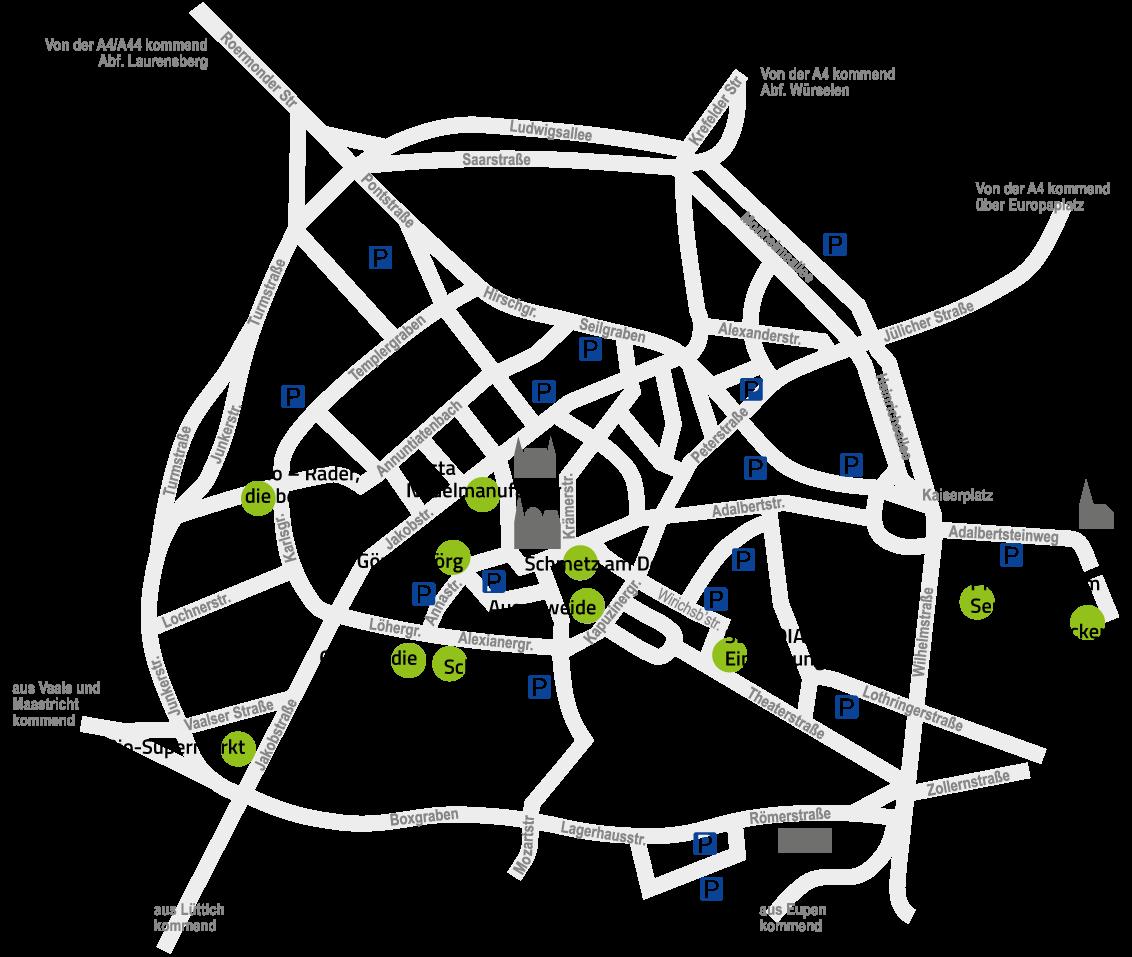Home Einkaufen in Aachen